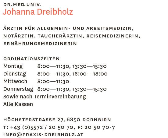 Praxis Dr. Dreibholz